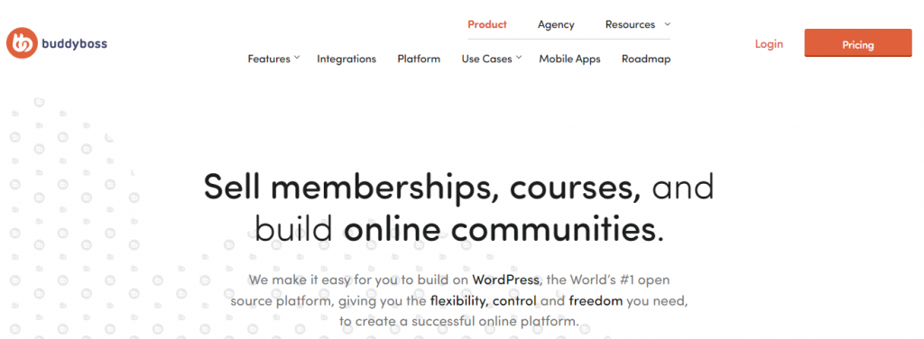 BuddyBoss theme for online coaching