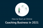how to start an online coaching business- cover image