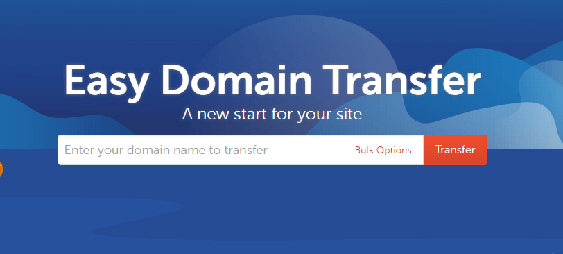 how to transfer a domain name.
