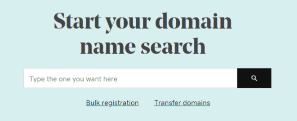 Seach your domain name and start coaching online