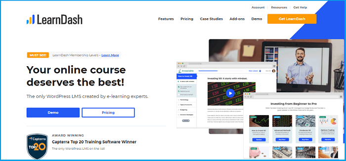 best lms for WordPress