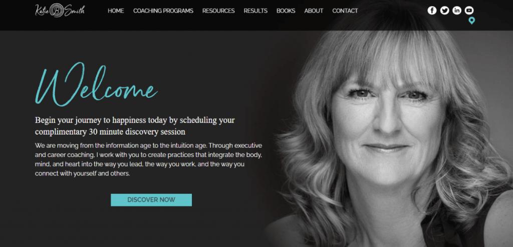 Katie Smith-Career coaching website