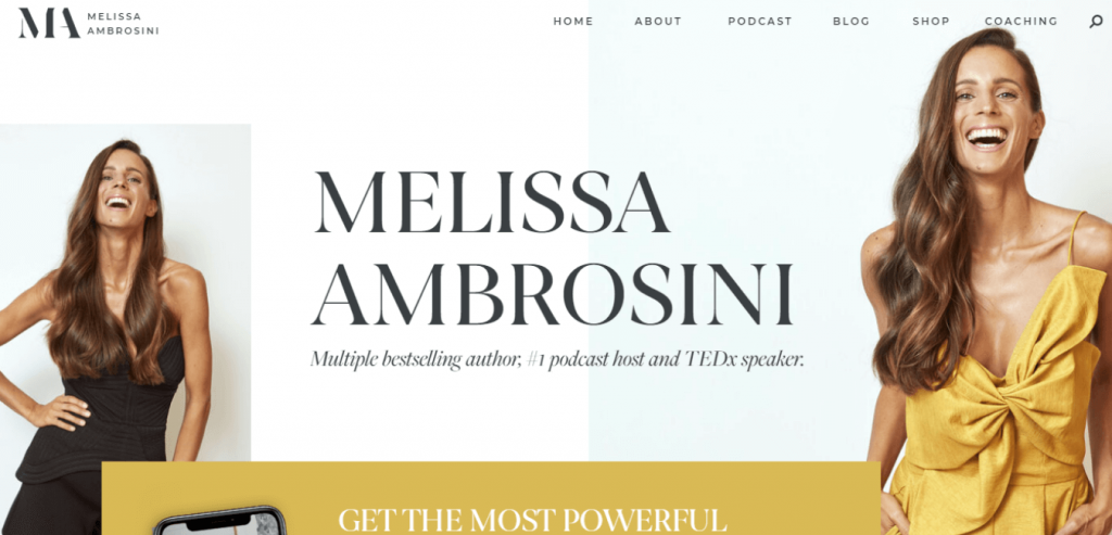 Melissa Ambrosini-Leadership coaching