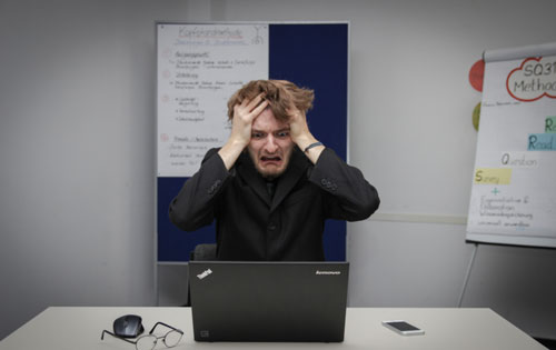Online coaching frustration.